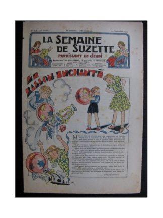 La Semaine de Suzette 35e année n°42 (1939) - Le ballon enchanté
