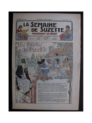 La Semaine de Suzette 35e année n°43 (1939) - Les roses de Franchic
