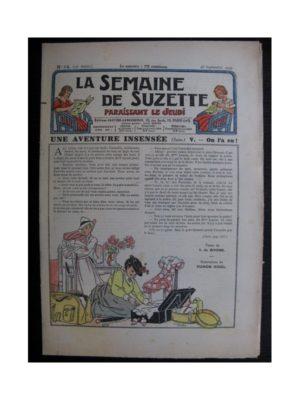 La Semaine de Suzette 35e année n°44 (1939) - Une aventure insensée - On l'a eu