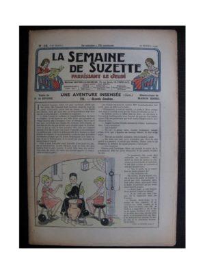 La Semaine de Suzette 35e année n°46 (1939) - Une aventure insensée 7 (Manon Iessel)