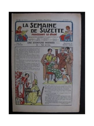 La Semaine de Suzette 35e année n°48 (1939) - Une aventure insensée 9 (Manon Iessel)