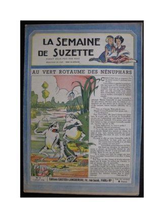 La Semaine de Suzette 37e année n°4 (1946) Au vert royaume des nénuphares