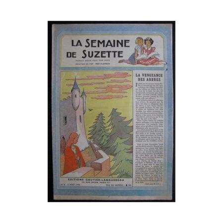 La Semaine de Suzette 37e année n°6 (1946) La vengeance des arbres