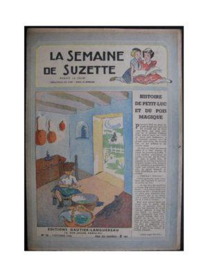 La Semaine de Suzette 37e année n°10 (1946) Petit-Luc et le pois magique