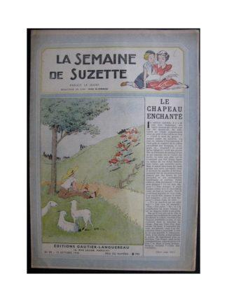La Semaine de Suzette 37e année n°11 (1946) le chapeau enchanté
