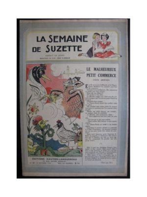 La Semaine de Suzette 37e année n°14 (1946) Le malheureux petit commerce