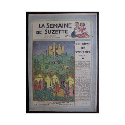 La Semaine de Suzette 37e année n°15 (1946) Le rêve de Yolaine (Bleuette)