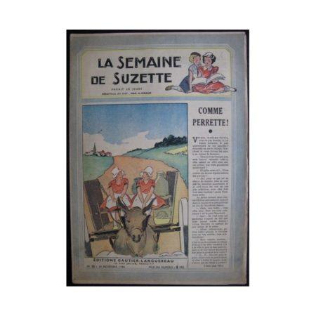 La Semaine de Suzette 37e année n°16 (1946) Comme perrette
