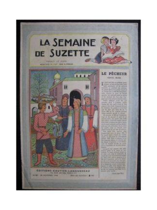 La Semaine de Suzette 37e année n°18 (1946) Le pêcheur