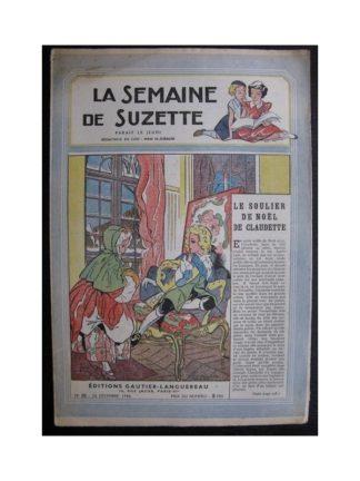 La Semaine de Suzette 37e année n°21 (1946) Le soulier de noël de Claudette