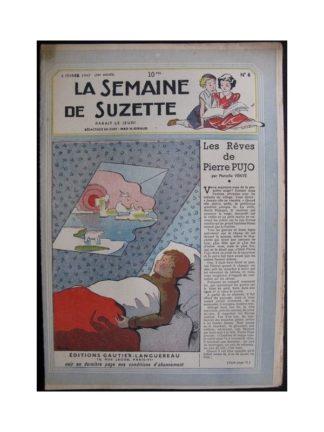 La Semaine de Suzette 38e année n°6 (1947) Les rêves de Pierre Pujo (Bleuette)