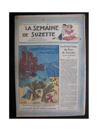 La Semaine de Suzette 38e année n°7 (1947) Les petits nains de pays de Ferrette