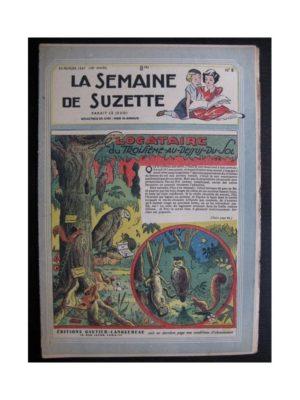 La Semaine de Suzette 38e année n°8 (1947) Le locataire du troisième au dessus du sol (Bleuette)