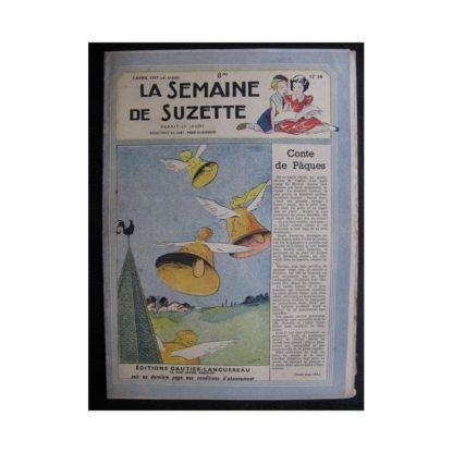 La Semaine de Suzette 38e année n°14 (1947) Conte de Pâques