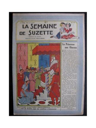 La Semaine de Suzette 38e année n°17 (1947) La princesse aux oiseaux