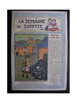 La Semaine de Suzette 38e année n°19 (1947) Bien mal acquis ne profite jamais
