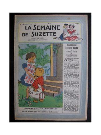 La Semaine de Suzette 38e année n°21 (1947) Les aventures de Nounouf Pacha