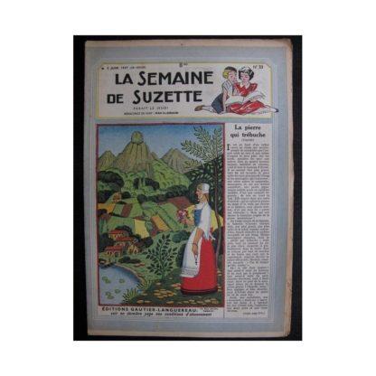 La Semaine de Suzette 38e année n°23 (1947) La pierre qui trébuche
