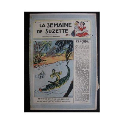 La Semaine de Suzette 38e année n°25 (1947) Cracoda