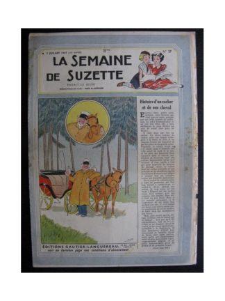 La Semaine de Suzette 38e année n°27 (1947) Histoire d'un cochet et de son cheval