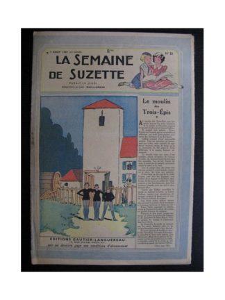 La Semaine de Suzette 38e année n°32 (1947) Le moulin des trois épis