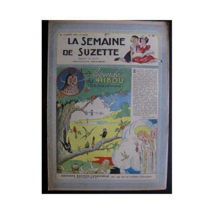 La Semaine de Suzette 38e année n°33 (1947) La légende du hibou (Bleuette)