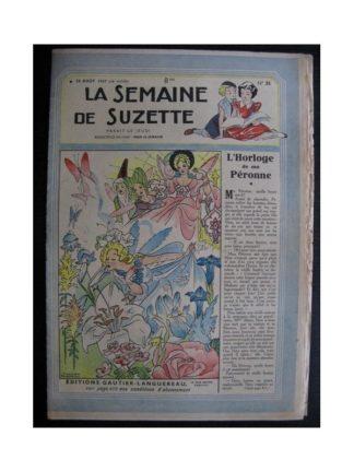La Semaine de Suzette 38e année n°35 (1947) L'horloge de ma péronne
