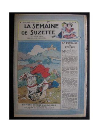 La Semaine de Suzette 38e année n°36 (1947) La fontaine du pèlerin