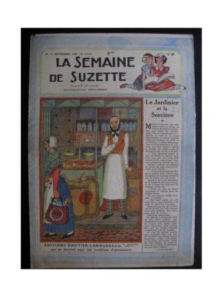 La Semaine de Suzette 38e année n°37 (1947) Le jardinier et la sorcière (Bleuette)