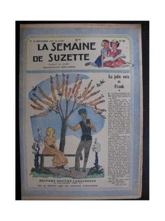 La Semaine de Suzette 38e année n°38 (1947) La jolie voix de Frank