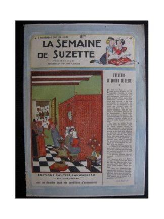 La Semaine de Suzette 38e année n°45 (1947) frédéric le joueur de flute (Bleuette)