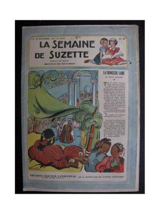 La Semaine de Suzette 38e année n°47 (1947) La princesse laide