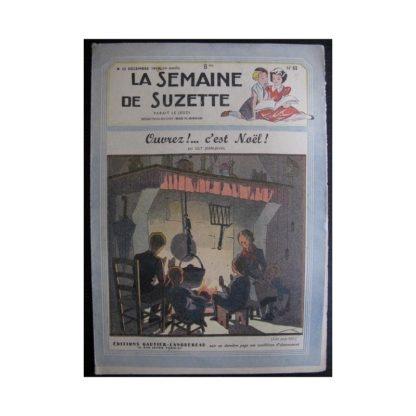 La Semaine de Suzette 38e année n°52 (1947) Ouvrez c'est Noël!