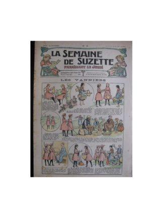 La semaine de Suzette 13e année n°3 (1917) Les vanniers (Bleuette)