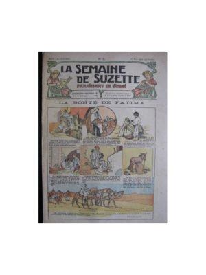 La semaine de Suzette 13e année n°5 (1917) La bonté de Fatima (Bleuette)