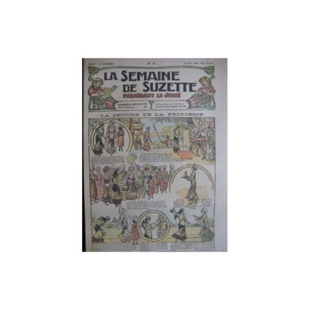 La semaine de Suzette 13e année n°8 (1917) La cruche de la princesse (Bleuette)