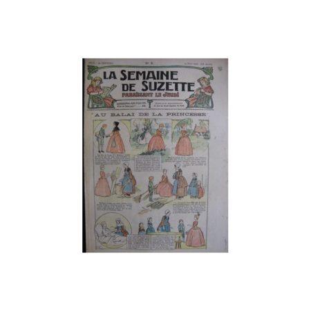 La semaine de Suzette 13e année n°9 (1917) Au balai de la princesse