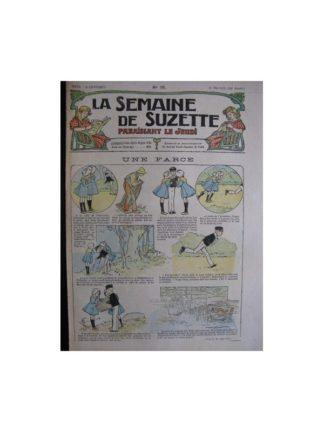 La semaine de Suzette 13e année n°16 (1917) Une farce (Bleuette)