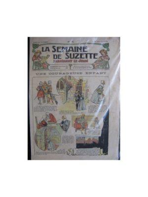 La semaine de Suzette 13e année n°18 (1917) Une courageuse enfant (Bleuette)