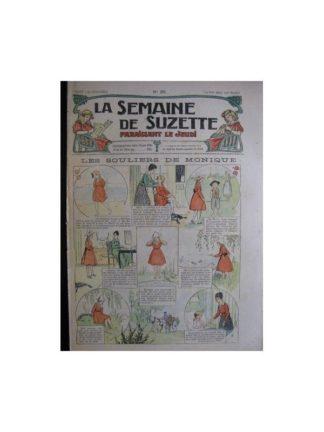 La semaine de Suzette 13e année n°20 (1917) les souliers de Monique