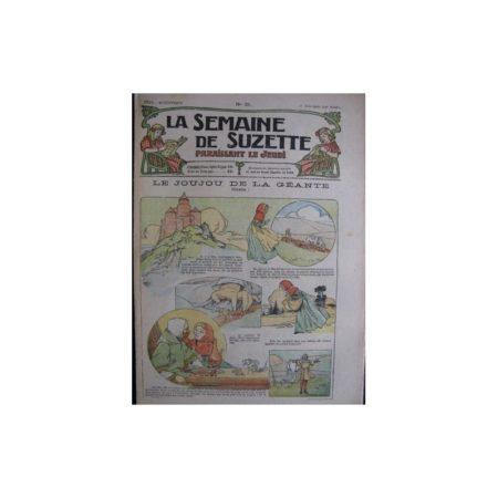 La semaine de Suzette 13e année n°21 (1917) Le joujou de la géante
