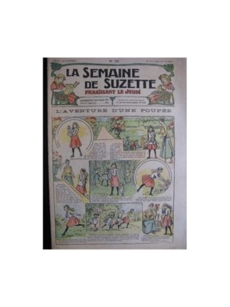 La semaine de Suzette 13e année n°22 (1917) L'aventure d'une poupée