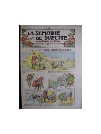 La semaine de Suzette 13e année n°23 (1917) Sully et les courtisans (Bleuette)