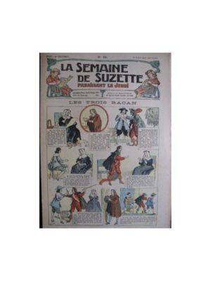 La semaine de Suzette 13e année n°25 (1917) Les trois Racan
