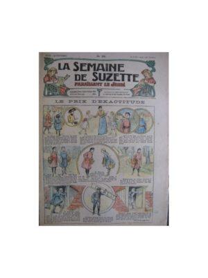 La semaine de Suzette 13e année n°26 (1917) Le prix d'exactitude