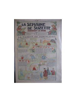 La semaine de Suzette 13e année n°27 (1917) La vasque en porcelaine (Bleuette)