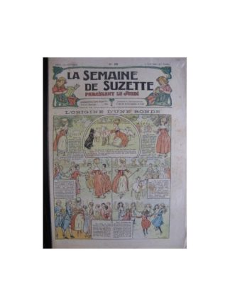 La semaine de Suzette 13e année n°28 (1917) L'origine d'une ronde (Bleuette)