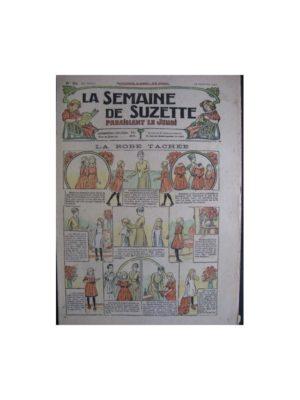 La semaine de Suzette 13e année n°33 (1917) La robe tachée