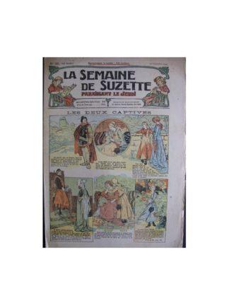 La semaine de Suzette 13e année n°34 (1917) Les deux captives (Bleuette)