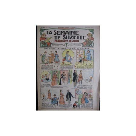 La semaine de Suzette 13e année n°35 (1917) Petites causes, grands effets (Bleuette)